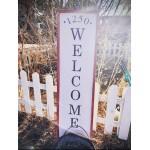 4/17 @ 10am   - Workshop Custom Welcome Sign