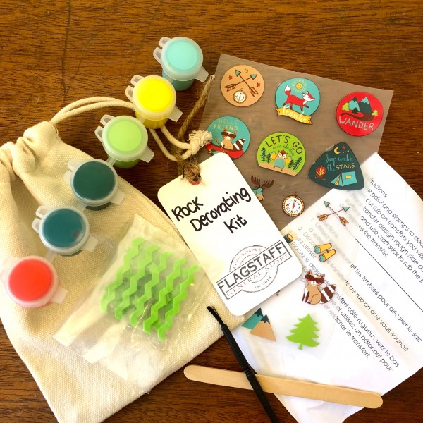 Rock Collecting + Decorating Kit