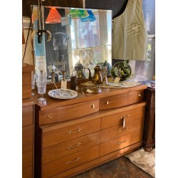 MCM Vanity Dresser w/ Mirror
