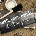 Quarantine Wash Hands  Kit
