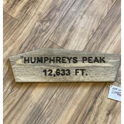 Humphrey's Peak Trail Sign