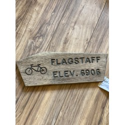 Flagstaff Trail Sign w/ Bike