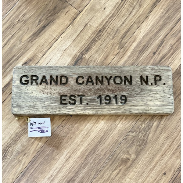 Grand Canyon Trail Sign