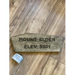 Mount Elden Trail Sign