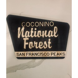 National Forest Custom Sign