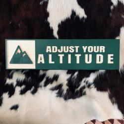Adjust Your Altitude