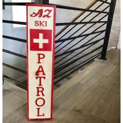 Az Ski Patrol Sign