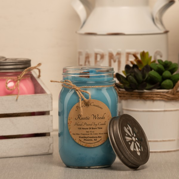 Rustic Woods Candle