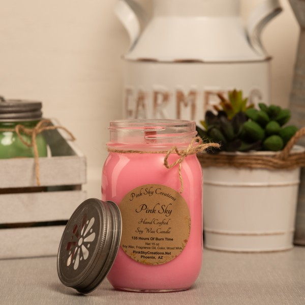 Pink Sky Candle