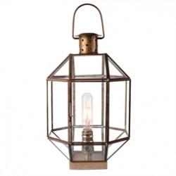 Glass Lantern-Style Light