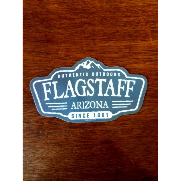 Sticker - Authentic Outdoors Flagstaff