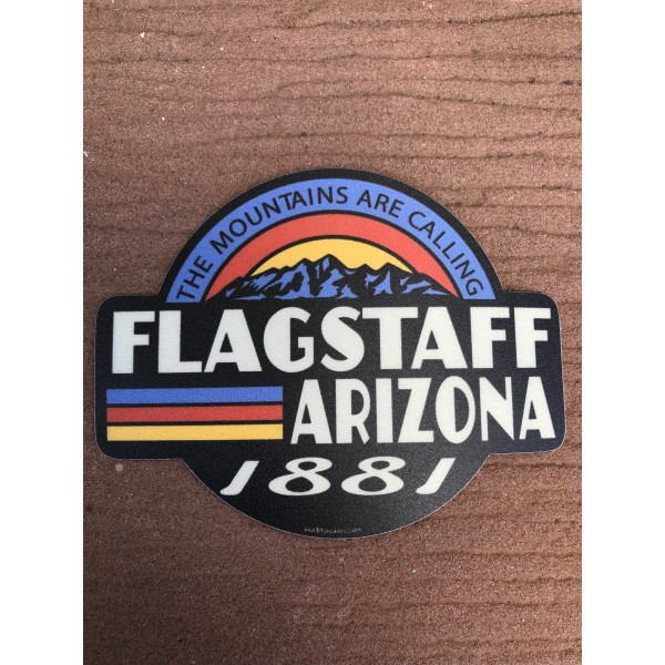 Sticker - Retro Flagstaff