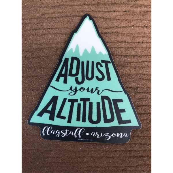 Sticker - Adjust Your Altitude