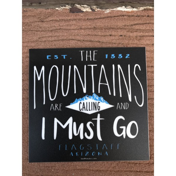 Sticker - Mountains Are Calling