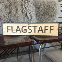 Flagstaff  Sign