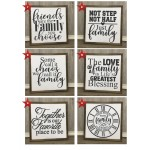 DIY KIT - Family sign options