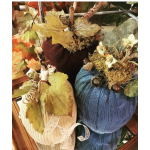 9/20 - Workshop Sweater Pumpkins (Set of 3)