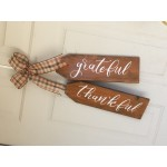 10/13 - Workshop Wooden Door Tag Set